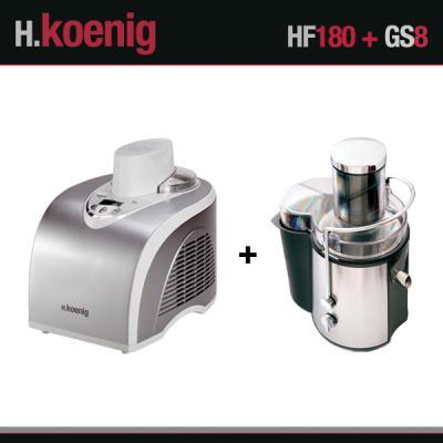 Turbine à glace et centrifugeuse HF180 et GS8 H.Koenig HF180