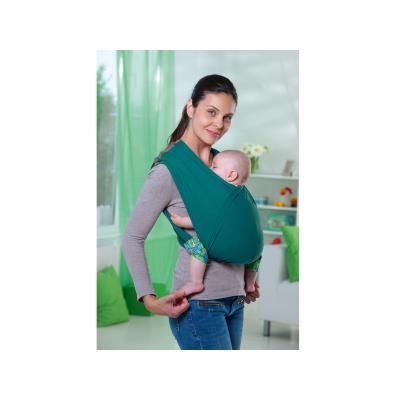 94791b434f29 AMAZONAS - Echarpe Porte bébé sans noeud Carry Baby Petrol