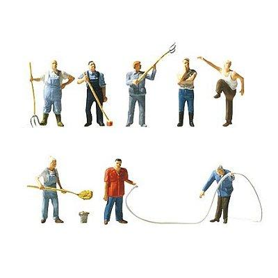 Faller - Modélisme HO - Figurines : Set A la ferme