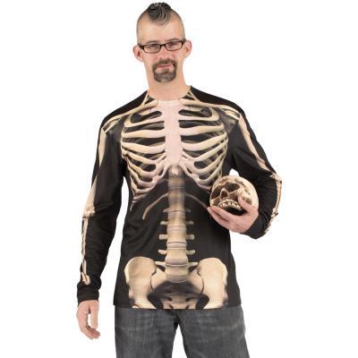 Déguisement Tee Shirt Squelette