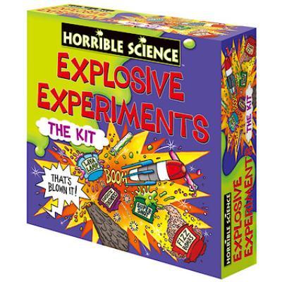 Horrible Science - Kit Expériences Explosives - Version Anglaise