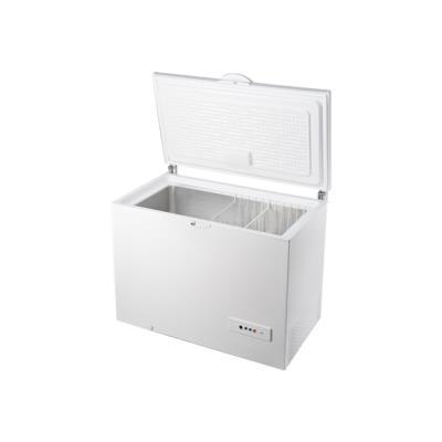 Indesit OS 1A 300 H - Congélateur coffre - pose libre - largeur : 118 cm - profondeur : 69.8 cm - hauteur : 91.6 cm - 311 litres - classe A+ - blanc