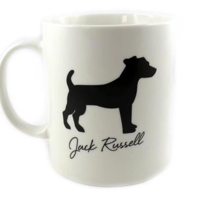 Les Trésors De Lily [M4015] - Mug 'Jack Russell' ivoire