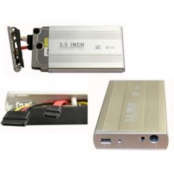 boitier externe pour disque dur sata 3 5 aluminium. Black Bedroom Furniture Sets. Home Design Ideas