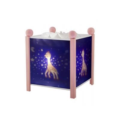 Lanterne Sophie la girafe© Voie Lactée - Rose 12V