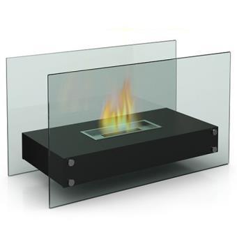 grande chemine design de table au bio thanol utilisation intrieur ou extrieur achat prix fnac - Cheminee De Table Ethanol