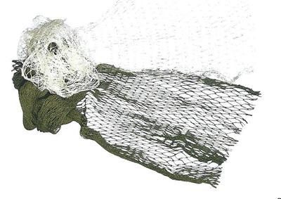 Filet de pêche, 60x125 cm - Nature