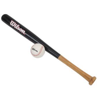 batte de baseball wilson tee ball baseball kit 82312 taille unique achat prix fnac. Black Bedroom Furniture Sets. Home Design Ideas