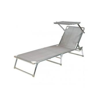 La Chaise Plage Gadget De ArgentAutre Longue Lit Parasol Moyen XZiuOTkP