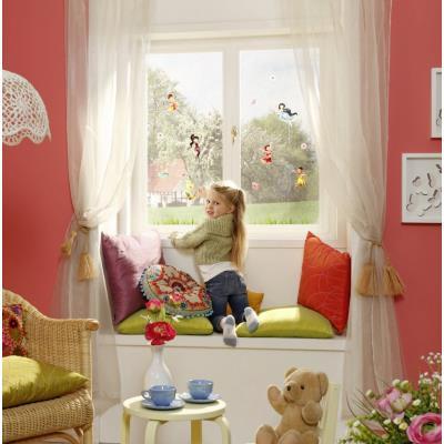 18 Stickers pour vitre Fée Clochette Disney Fairies