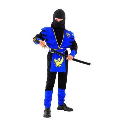 Déguisement ninja bleu garçon 7 à 9 ans