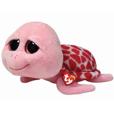 Ty - Beanie Boos - Shellby la Tortue de Mer Rose - Peluche 24 cm