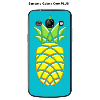 Coque Samsung Galaxy Core Plus G3500 Ananas Turquoise