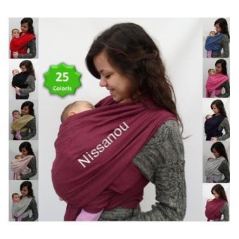 NISSANOU porte bébé ECHARPE DE PORTAGE neuve BORDEAUX idée cadeau naissance  - Echarpes de Portage - Achat   prix   fnac ce12996abcc