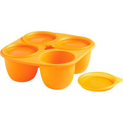 Babymoule 4 portions 280 ml orange