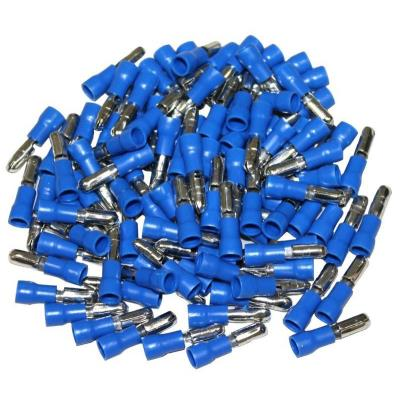 Cosses Electriques Males Rondes Bleues 4 Sachet De 100 Cosses