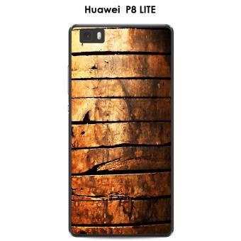 Coque Huawei P8 LITE Porte en bois