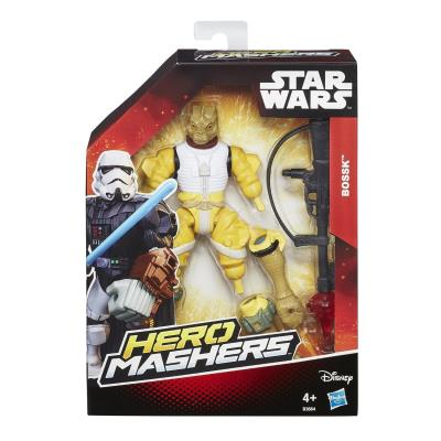 Hasbro - B3664 - Hero Mashers - Star Wars - Bossk - Figurine Personnalisable 15 cm