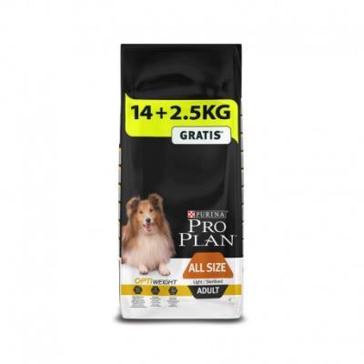 Pro plan - adult light / sterilised - 14 + 2,5 kg gratuits