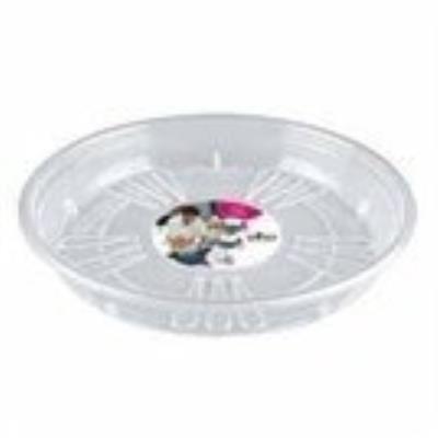 Elho 2055201 Uni-Soucoupe Ronde Transparent 21 X 21 X 2 Cm