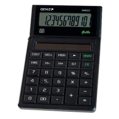 Genie 305 eco calculatrice à énergie solaire (import allemagne)