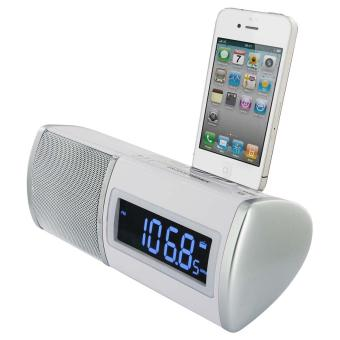 radio reveil dock ipod iphone blanc achat prix fnac. Black Bedroom Furniture Sets. Home Design Ideas