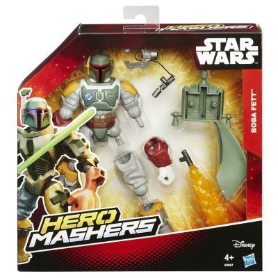 Hasbro - B3667 - Hero Mashers - Star Wars - Boba Fett - Figurine Personnalisable 15 cm + Accessoires