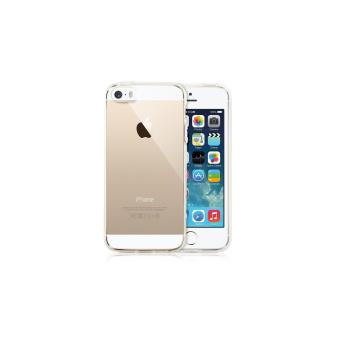 Coque Silicone iPhone 5 5s SE transparente souple ultra fine