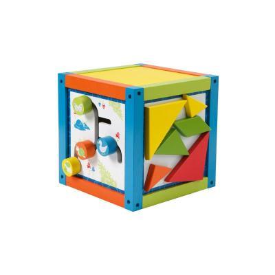 Roba 9603 Cube de motricité multi-jeux