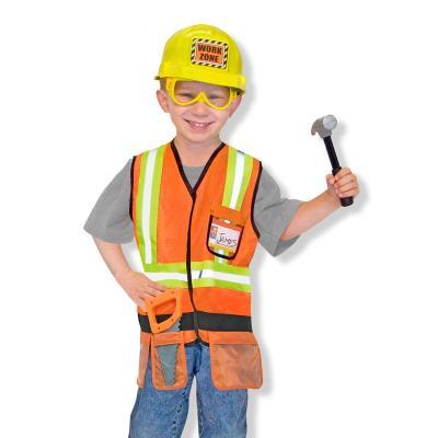 Déguisement enfant Melissa & Doug Costume de Travailleur de la Construction