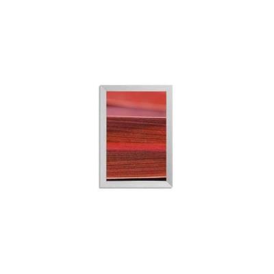 Cadre extra profond Gallery Bold en aluminium anodisé et brossé - L32,9 x H42,9 x P3,4 cm argenté