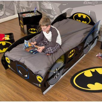 grand lit enfant batman achat prix fnac. Black Bedroom Furniture Sets. Home Design Ideas