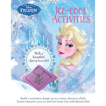 Disney Frozen Ice-Cool Activities - With a Beautiful Charm Bracelet - Paperback - 2015