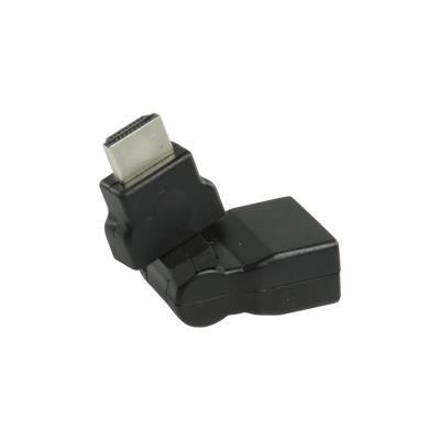 CABLING® Adaptateur HDMI noir avec connecteur HDMI - entrée HDMI orientable
