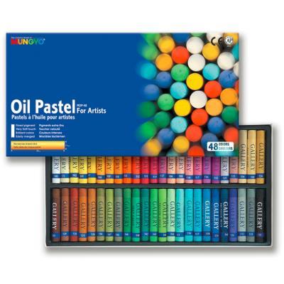 Boîte de 48 pastels à l'huile