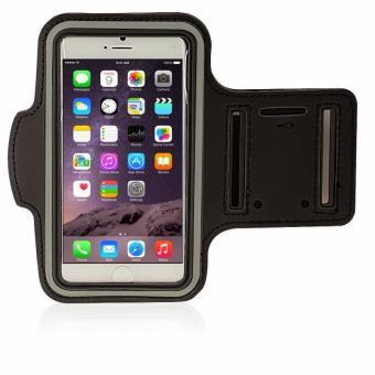 Sacoche avec Rangement pour Le Jogging Brassard de Sport pour Apple iPod Touch 6G,Pochette t/él/éphone pour Le Sport Poche de Rangement sur Le Bras S Noir