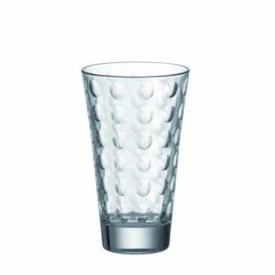LEONARDO 86709 OPTIC SET DE 6 VERRE LONG DRINK TRANSPARENT