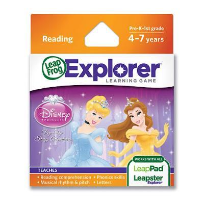 LeapFrog - Leapster Explorer - Jeu Disney Princess - Princesses Disney Version Anglaise