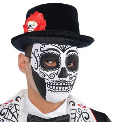 Masque Squelette Jour de la Mort