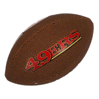 Mini Ballon De Football Américain Wilson Nfl Team Logo San Francisco 49ers