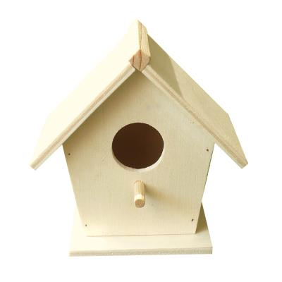 Nichoir à oiseau - petit modèle - 70 x 65 x 115 mm