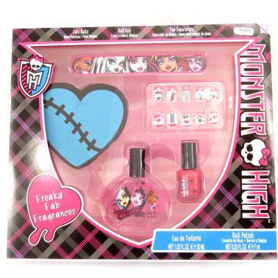 Coffret manucure 'Monster High' noir rose