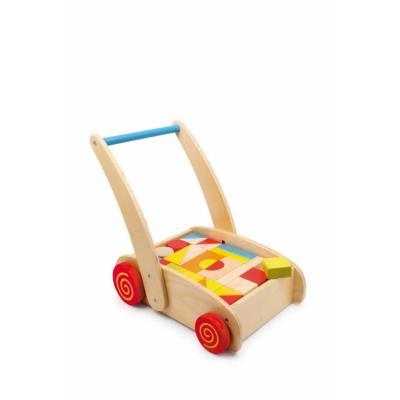 Chariot de marche à roulettes Construction