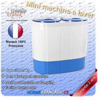 Mini Machine A Laver 2 En 1 Lave Linge Essoreuse Capacité 3
