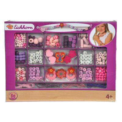 Simba Toys 100003425 1 x Simba Eichhorn - Perles en bois - Les lettres de l'alphabet