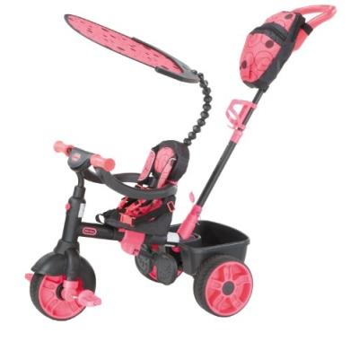 Little tikes - 634321c - tricycle - 4 en 1 deluxe edition-neon pink