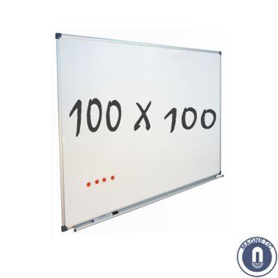 Tableau blanc magnétique - 100 x 100 cm