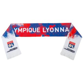 outlet boutique best website half price Echarpe supporter Ol boutique Lyon echarpe poudre ol 74180 ...