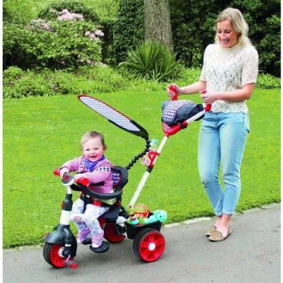 Little tikes - 634345c - tricycle - 3 en 1 movi rouge-poignées ergonomiques