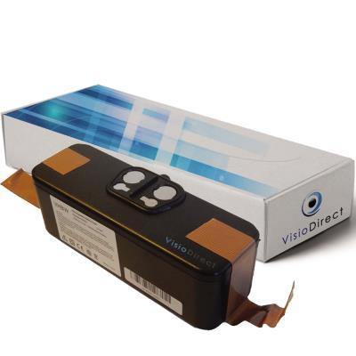 Batterie pour iRobot Roomba 532 aspirateur laveur autonome 4400mAh 14.4V - Visiodirect -
